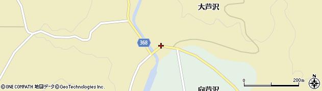山形県酒田市北青沢大芦沢21周辺の地図