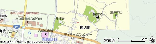 山形県酒田市麓楯ノ腰周辺の地図