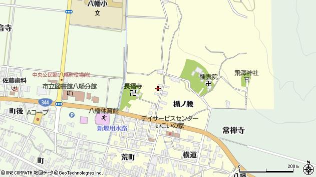 山形県酒田市麓楯ノ腰87周辺の地図