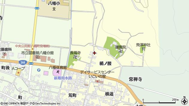 山形県酒田市麓楯ノ腰54周辺の地図