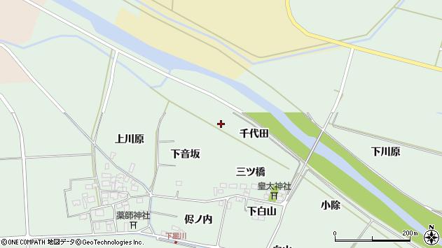 山形県酒田市大豊田千代田周辺の地図
