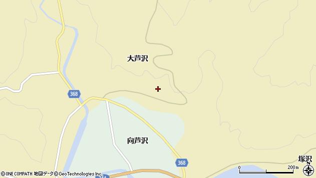 山形県酒田市北青沢大芦沢400周辺の地図
