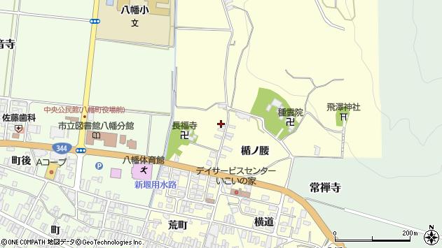 山形県酒田市麓楯ノ腰18周辺の地図