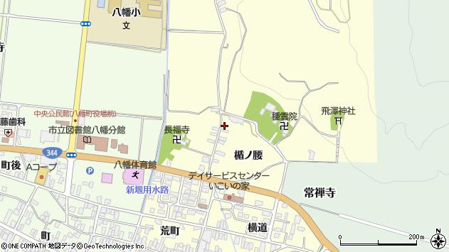 山形県酒田市麓楯ノ腰58周辺の地図