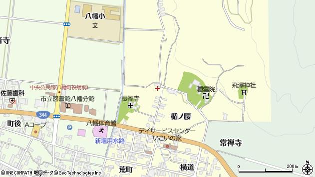 山形県酒田市麓楯ノ腰80周辺の地図