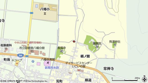 山形県酒田市麓天降堂周辺の地図