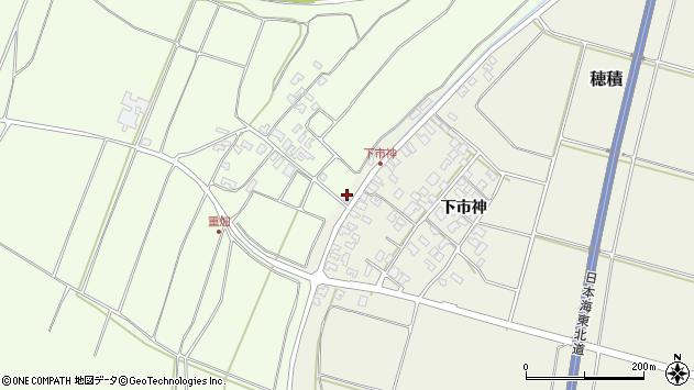 山形県酒田市穂積下市神7周辺の地図