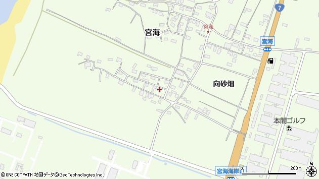 山形県酒田市宮海砂飛2周辺の地図