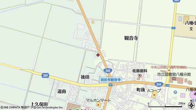 山形県酒田市北仁田五百地72周辺の地図