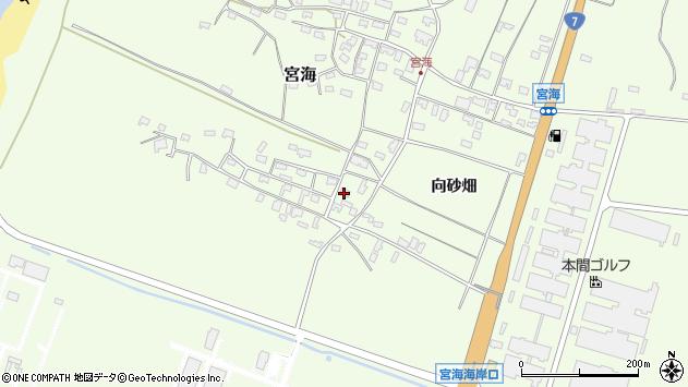 山形県酒田市宮海向砂畑14周辺の地図