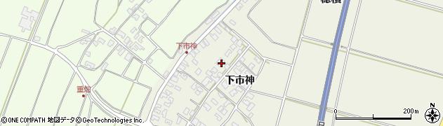 山形県酒田市穂積下市神90周辺の地図