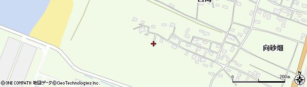 山形県酒田市宮海砂飛34周辺の地図