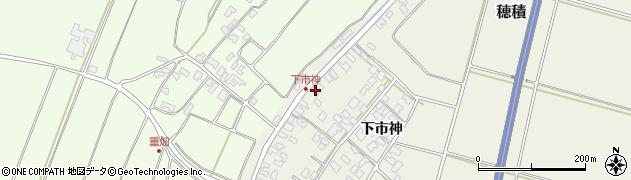 山形県酒田市穂積下市神135周辺の地図