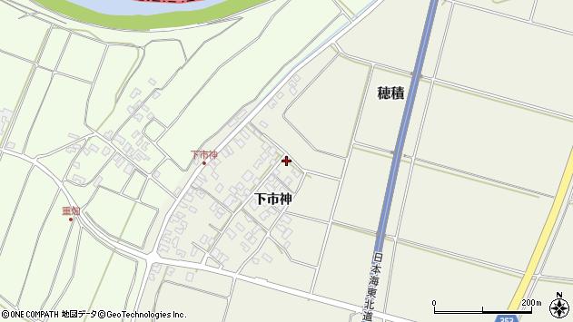 山形県酒田市穂積下市神63周辺の地図