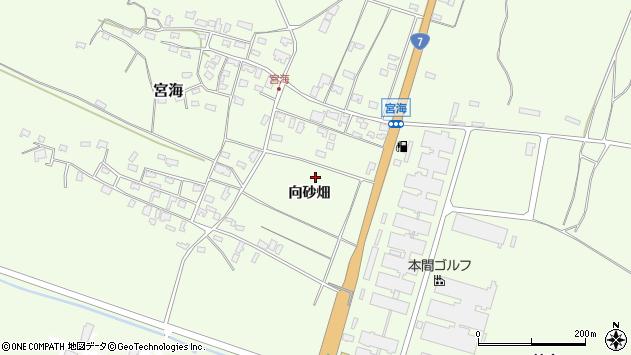 山形県酒田市宮海向砂畑28周辺の地図