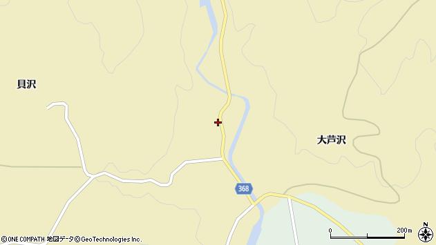 山形県酒田市北青沢大芦沢95周辺の地図