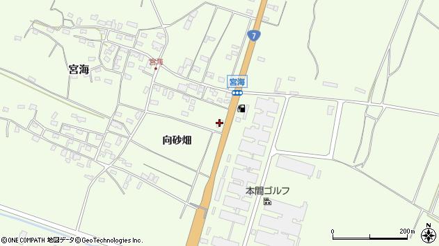 山形県酒田市宮海向砂畑118周辺の地図