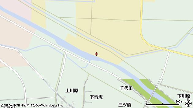山形県酒田市大久保新田前周辺の地図