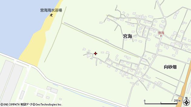 山形県酒田市宮海砂飛30周辺の地図