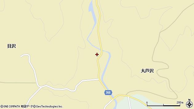 山形県酒田市北青沢大芦沢89周辺の地図