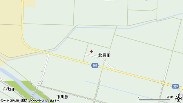 山形県酒田市小泉北豊田22周辺の地図