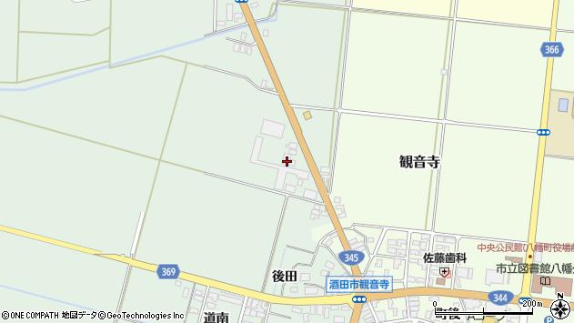 山形県酒田市北仁田五百地13周辺の地図