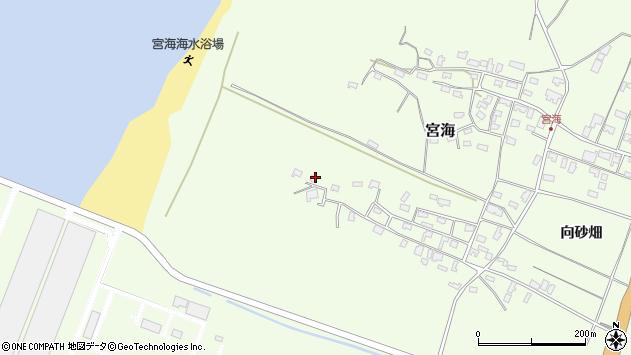 山形県酒田市宮海砂飛47周辺の地図