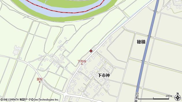 山形県酒田市穂積下市神2周辺の地図