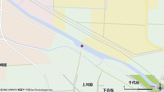 山形県酒田市大豊田馬除周辺の地図