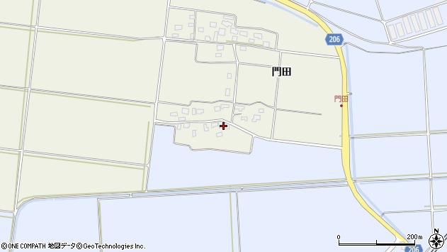 山形県酒田市穂積門田59周辺の地図