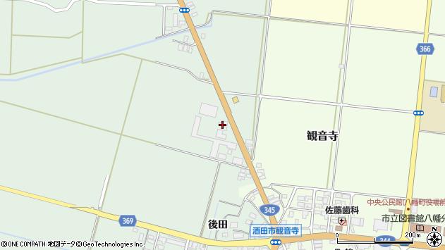 山形県酒田市北仁田石田88周辺の地図