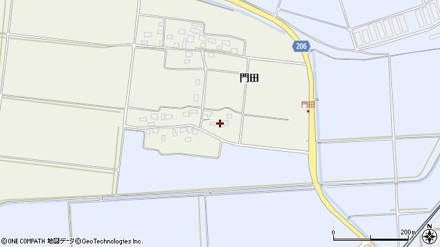山形県酒田市穂積門田145周辺の地図