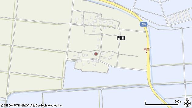 山形県酒田市穂積門田150周辺の地図