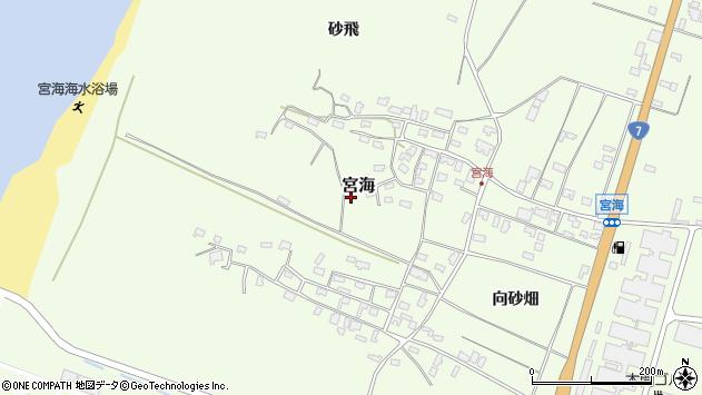 山形県酒田市宮海砂飛78周辺の地図