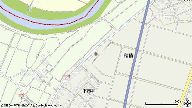 山形県酒田市穂積上市神210周辺の地図