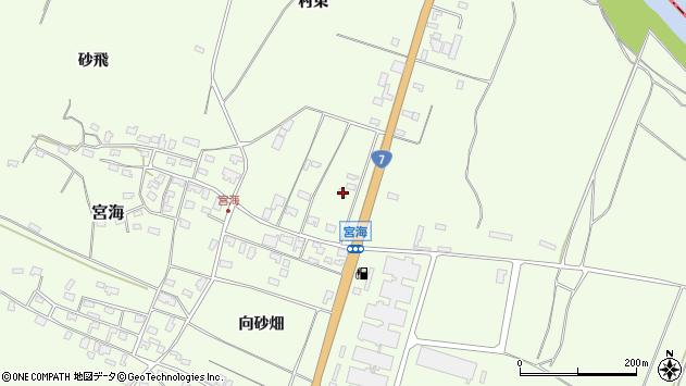 山形県酒田市宮海村東39周辺の地図