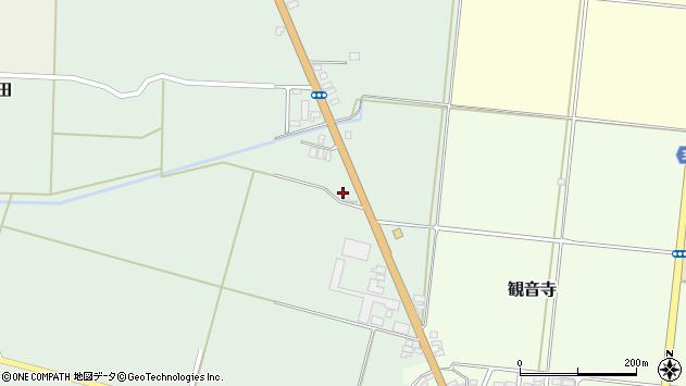 山形県酒田市北仁田石田5周辺の地図