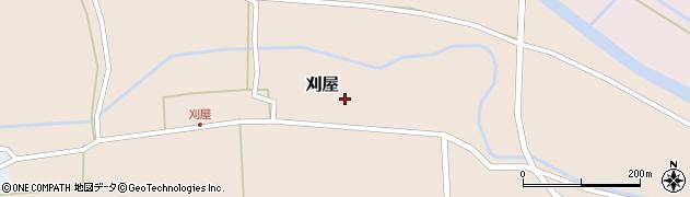 山形県酒田市刈屋東村60周辺の地図