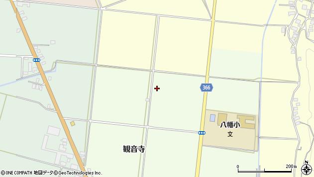 山形県酒田市観音寺高田周辺の地図