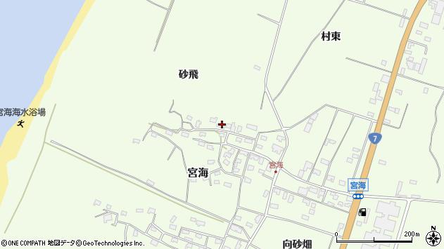 山形県酒田市宮海砂飛149周辺の地図