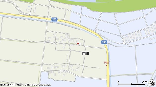 山形県酒田市穂積門田113周辺の地図
