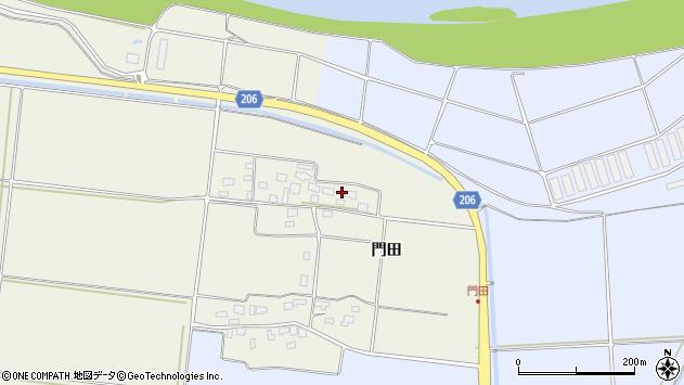 山形県酒田市穂積門田115周辺の地図