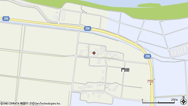 山形県酒田市穂積門田130周辺の地図