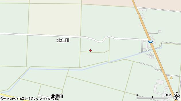 山形県酒田市北仁田川除76周辺の地図