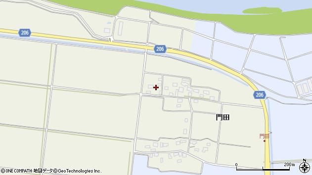 山形県酒田市穂積門田133周辺の地図