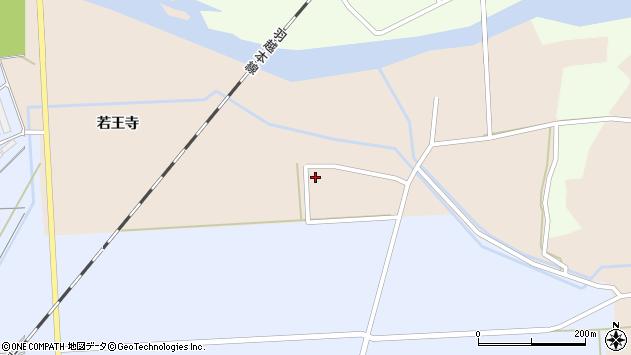 山形県酒田市刈屋侭ノ内15周辺の地図