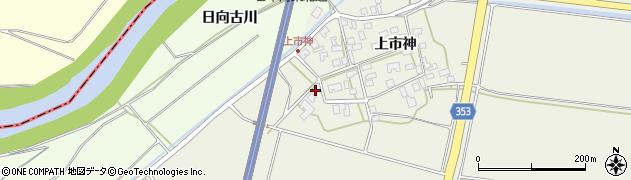 山形県酒田市穂積上市神139周辺の地図