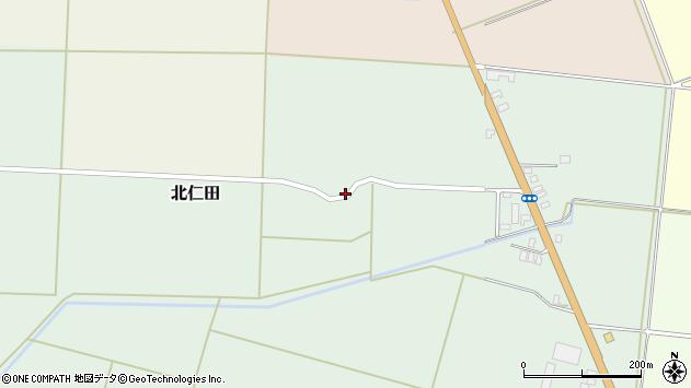 山形県酒田市北仁田川除101周辺の地図