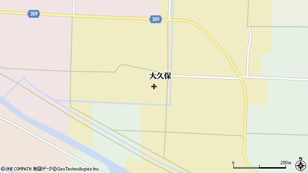 山形県酒田市大久保本久保15周辺の地図