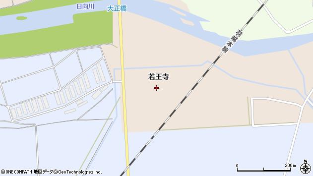 山形県酒田市刈屋若王寺周辺の地図